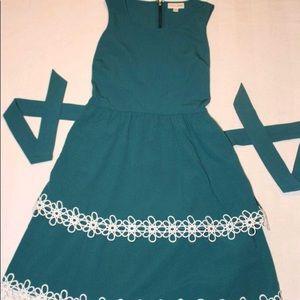 Maison Jules Teal dress
